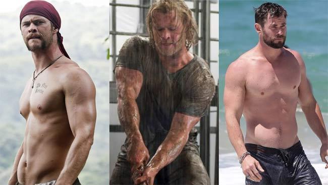 3 body hoàn mỹ nhất Avengers: Thần Sấm Thor từ gầy như quỷ đói lột xác cường tráng-3