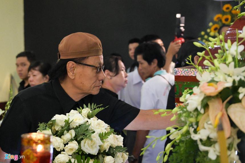 Nghệ sĩ Việt bật khóc khi nghe điếu văn trước giờ đưa tiễn Lê Bình-9