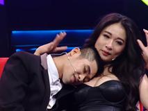 Khán giả sốc với cảnh hot girl siêu vòng 1 mặc hở hang, cho trai tựa đầu vào ngực trên truyền hình