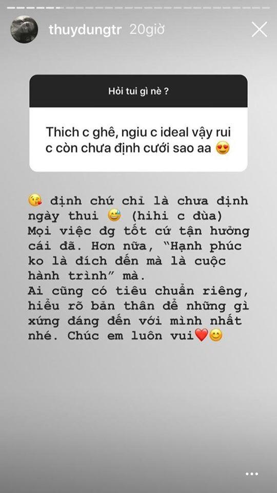 Hoa hậu Việt Nam 2008 Thùy Dung lần đầu chia sẻ về bạn trai và ý định lấy chồng-5