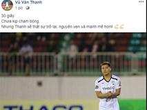 Đăng ảnh kỷ niệm ngày trở lại với V.League, Văn Thanh nhận được lời chúc