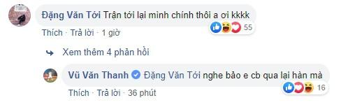 Đăng ảnh kỷ niệm ngày trở lại với V.League, Văn Thanh nhận được lời chúc cực mặn từ Đức Huy-3