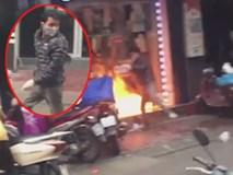 Danh tính người đàn ông ngang nhiên châm lửa đốt cửa hàng của vợ cũ trên phố Hải Phòng