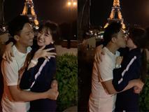 Trấn Thành - Hari Won kỷ niệm 1200 ngày yêu nhau bằng màn hôn đắm đuối dưới tháp Eiffels nhưng lại bất ngờ bị