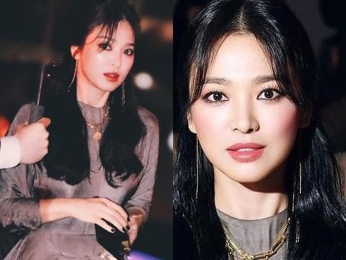 Song Hye Kyo ngày thoát xác: Ảnh sương sương thì đẹp mê hồn, sao hình chuẩn thì nhìn cứ sờ sợ