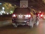 Toyota Fortuner biển xanh gây tai nạn không có dữ liệu đăng kiểm