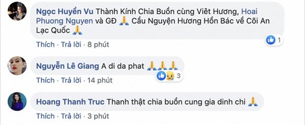 Sao Việt chia buồn với Việt Hương trước tin bố cô qua đời-2