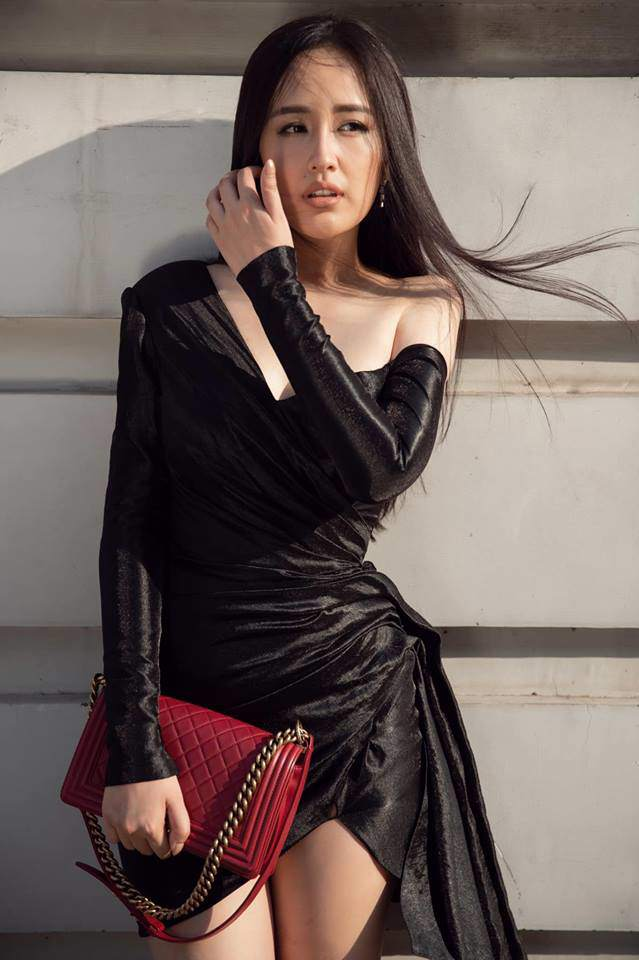 Mai Phương Thuý nói đừng bắt tôi mặc đẹp nữa, bất ngờ nhất là phản ứng của Lý Nhã Kỳ-4