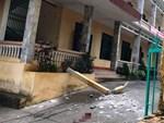 Một học sinh tử vong sau khi bị cột bê tông trong trường đè trúng-3