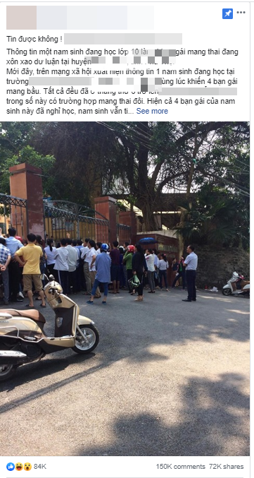 Cầu thủ Thành Chung tag Hà Đức Chinh rồi đùa cợt trong bài đăng về tin đồn nam sinh lớp 10 làm nhiều nữ sinh có bầu-1
