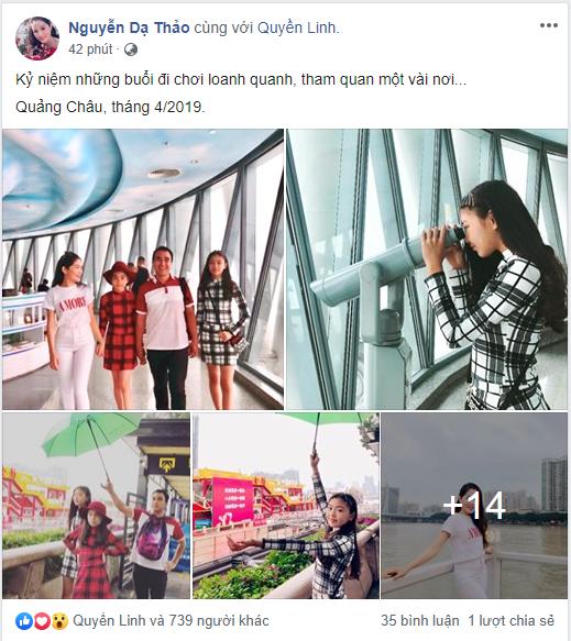 Bà xã Quyền Linh chia sẻ ảnh đi du lịch của gia đình, dân tình phát hiện ra tận 2 điều thú vị-1