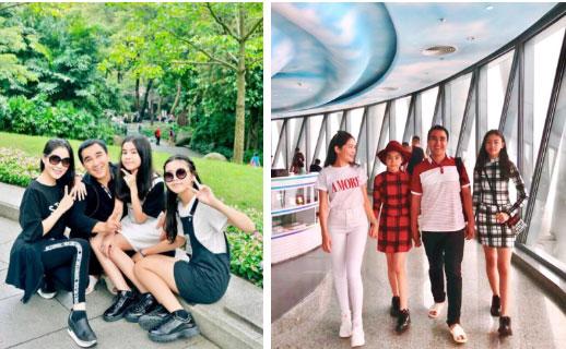 Bà xã Quyền Linh chia sẻ ảnh đi du lịch của gia đình, dân tình phát hiện ra tận 2 điều thú vị-3