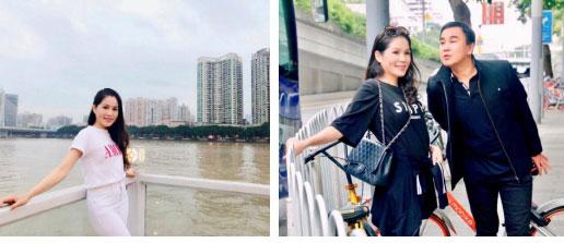 Bà xã Quyền Linh chia sẻ ảnh đi du lịch của gia đình, dân tình phát hiện ra tận 2 điều thú vị-8
