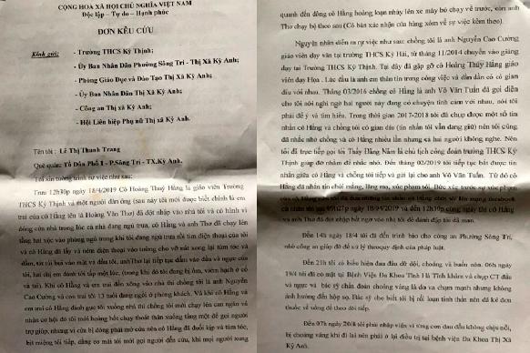 Lộ tin nhắn nhạy cảm, cô giáo Hà Tĩnh xông vào nhà đánh vợ đồng nghiệp-2