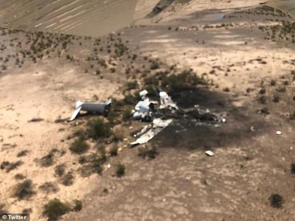 Máy bay rơi ở Mexico, không một ai sống sót-1
