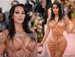 Kim Kardashian gây ấn tượng tại Met Gala với bộ váy ướt át, nhưng khi biết cách cô chật vật để mặc ai cũng thấy... í ẹ-8