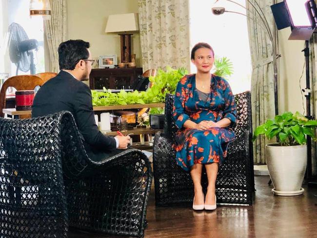 Vợ mới của chồng cũ Hồng Nhung lộ vòng bụng khác thường, tiết lộ điểm không ai ngờ ở ông xã-1
