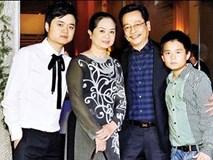 Gia đình hạnh phúc vợ hiền con ngoan của NSND Hoàng Dũng - ông bố giàu có quyền lực trong