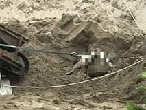 Xác định nguyên nhân tài xế xe ben chết vùi trong đống cát ở Hòa Bình