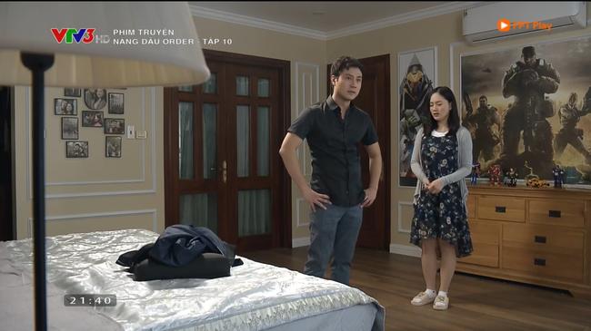 Nàng dâu order tập 10: Chồng Lan Phương ghen điên cuồng khi thấy vợ được đàn ông đưa về tận cửa-1