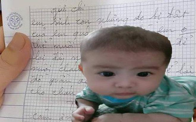 Mẹ bế con gửi cho người lạ rồi bỏ đi: Hé lộ lá thư tay xót xa của người mẹ-1