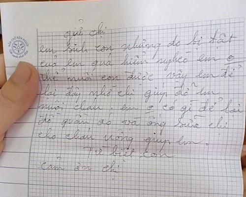 Mẹ bế con gửi cho người lạ rồi bỏ đi: Hé lộ lá thư tay xót xa của người mẹ-3