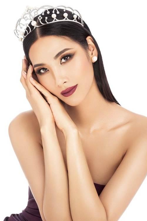 Là người kế nhiệm tại Miss Universe, Hoàng Thùy kế thừa luôn kiểu tóc tém thương hiệu của HHen Niê?-1