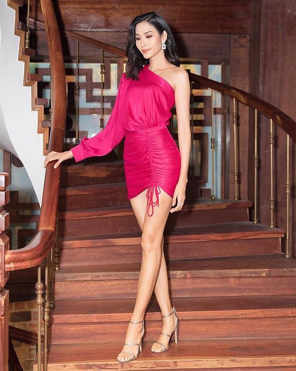 Là người kế nhiệm tại Miss Universe, Hoàng Thùy kế thừa luôn kiểu tóc tém thương hiệu của HHen Niê?-12