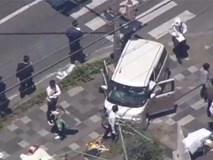 'Xe điên' đâm học sinh đang sang đường tại Nhật Bản, 2 người chết