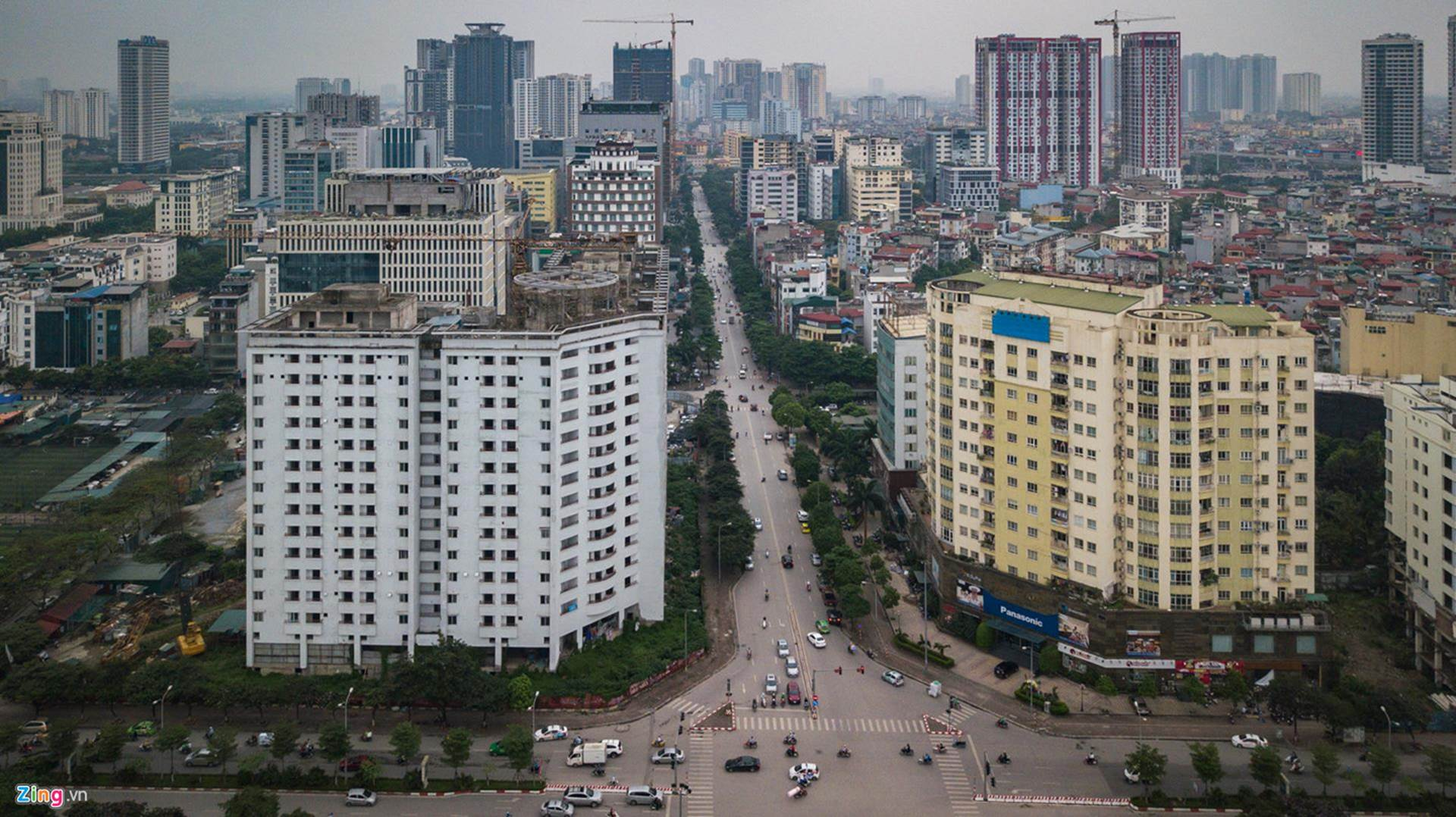 Chung cư bỏ hoang 9 năm ở đất vàng Hà Nội-1
