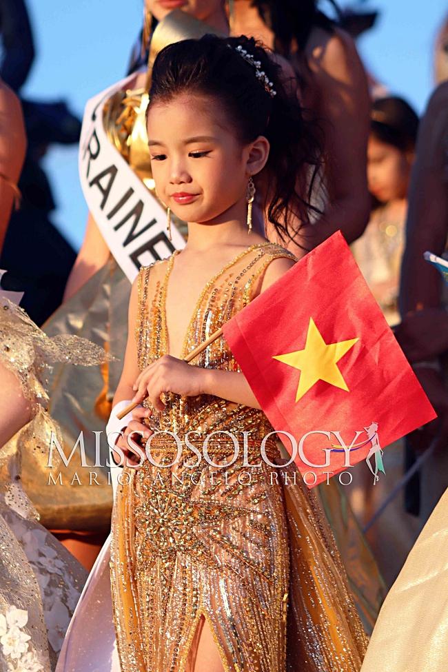 Vừa nhập cuộc Hoa hậu hoàn vũ nhí 2019, đại diện Việt Nam đã gây ấn tượng với chuyên trang sắc đẹp Missosology-7