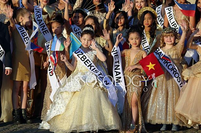 Vừa nhập cuộc Hoa hậu hoàn vũ nhí 2019, đại diện Việt Nam đã gây ấn tượng với chuyên trang sắc đẹp Missosology-9