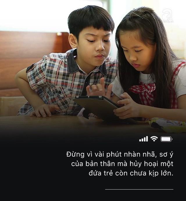 Con quấy khóc, bố mẹ cho chơi ngay smartphone: Đừng vì vài phút nhàn rỗi mà hủy hoại một đứa trẻ còn chưa kịp lớn!-7