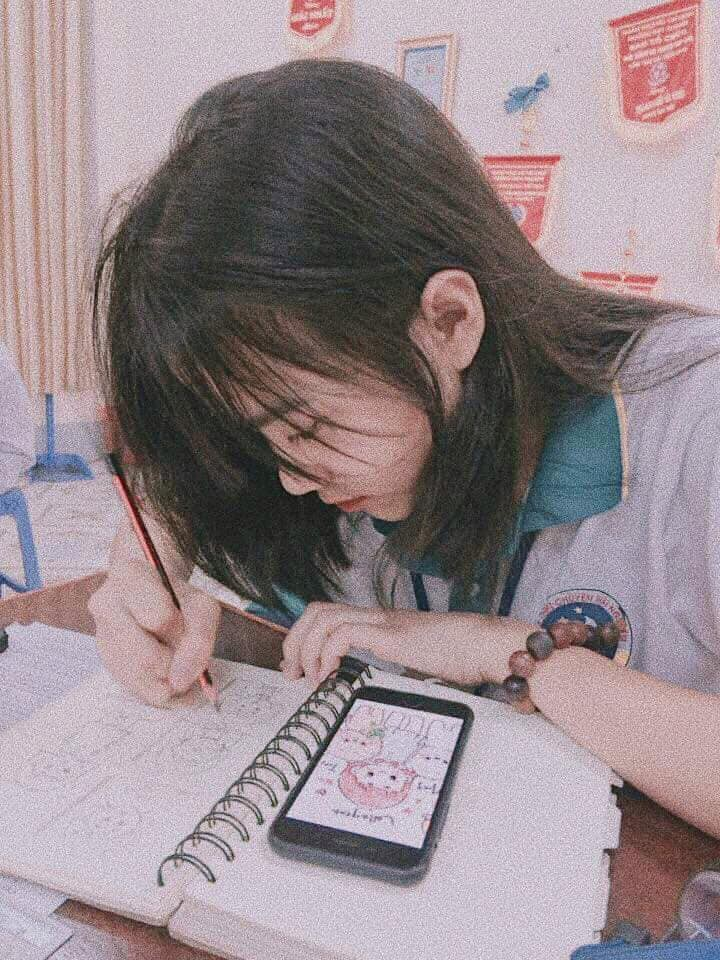 Bị chụp lén mà vẫn đẹp xuất sắc, nữ sinh 10X Chuyên Thái Nguyên nổi như cồn chỉ sau một đêm-1