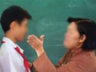 Cô giáo tát học sinh lớp 2 tím thái dương trong giờ kiểm tra học kỳ