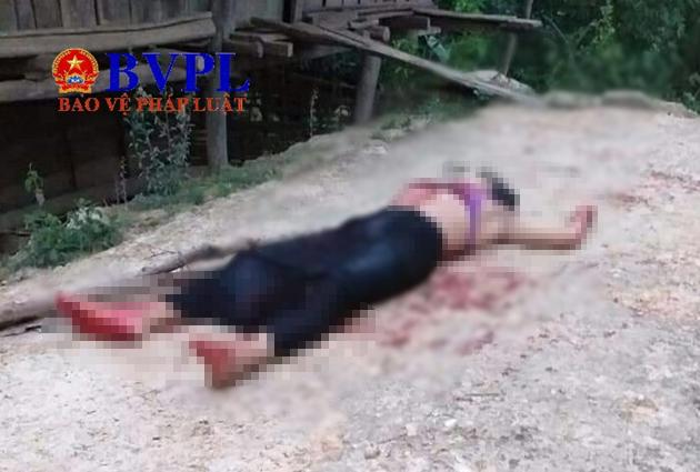 Sau tiếng tri hô cướp, người dân phát hiện một phụ nữ chết gục trên vũng máu-1