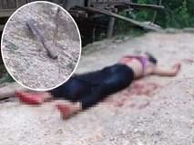 Sau tiếng tri hô cướp, người dân phát hiện một phụ nữ chết gục trên vũng máu