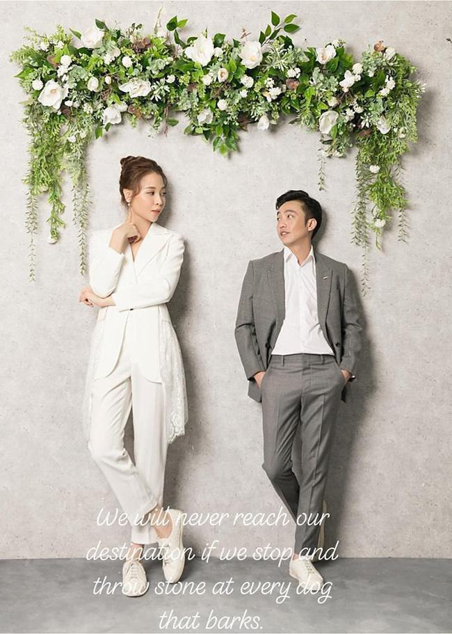 Cường Đô La tung ảnh tình tứ bên Đàm Thu Trang, ngầm ám chỉ về thời gian tổ chức đám cưới?-2