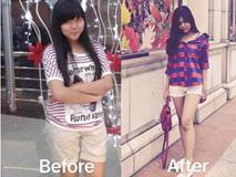 """Câu chuyện giảm cân đang HOT nhất tuần: cô gái """"lột xác"""" với eo thon dáng gọn, giảm 25kg"""