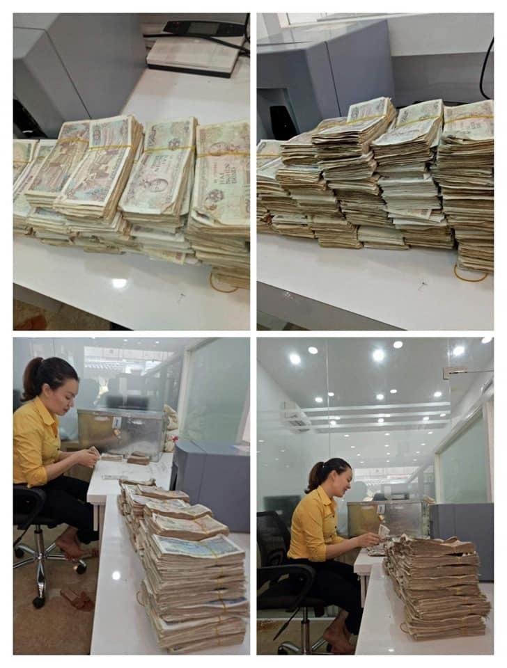 Vợ chồng già 78 tuổi chở bao tải tiền gửi tiết kiệm: Hy hữu ở Quảng Bình-4