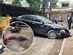 Nhân chứng thoát chết vụ ô tô Camry đi lùi tông tử vong 1 phụ nữ: Sau tai nạn, nữ tài xế mở cửa bỏ chạy-5