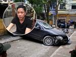 CLIP: Nữ tài xế lùi xe Camry tông chết người đi xe máy ở Hà Nội-8