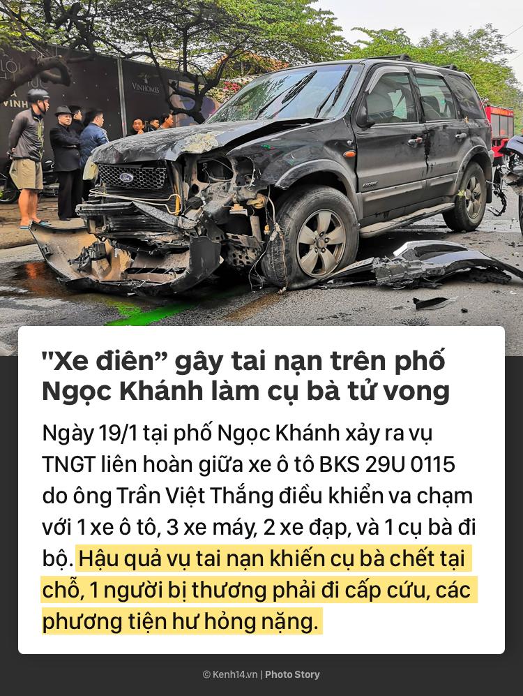 Ám ảnh những vụ tai nạn kinh hoàng do xe điên gây ra, để lại hậu quả đau lòng từ đầu năm 2019 đến nay-1