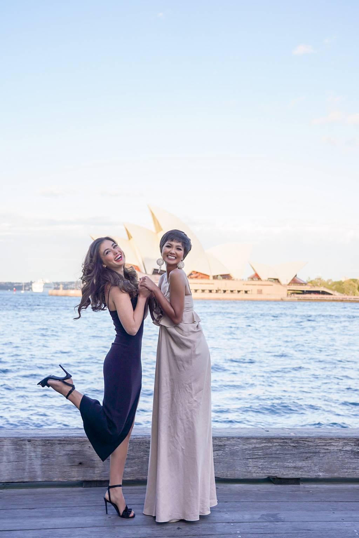 HHen Niê rạng rỡ hội ngộ Hoa hậu Hoàn vũ Australia 2018-7