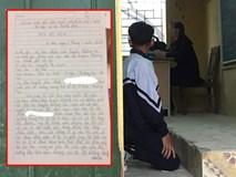 Đình chỉ cô giáo Hà Nội bắt học sinh quỳ trước lớp