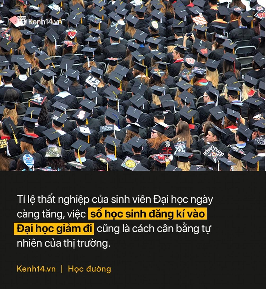Hơn 270.000 học sinh lớp 12 không thi Đại học năm nay: Bằng ĐH hiện nay quá đắt đỏ và không đáng tiền bỏ ra?-1