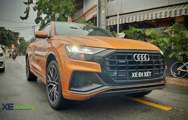 Audi Q8 đầu tiên ở Việt Nam lượn phố Sài Gòn-1