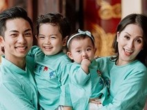 Có hai con đủ trai lẫn gái mà vẫn kêu ít, Phan Hiển đòi hỏi bà xã 'hợp tác làm vài đứa nữa'