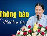Trụ trì chùa Ba Vàng nói gì về việc bà Phạm Thị Yến tái xuất đăng đàn thuyết giảng?