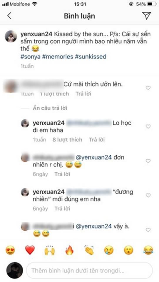 Bị anti-fan comment soi mói, bạn gái Lâm Tây phản dame rồi còn sửa luôn lỗi chính tả như cô giáo thế này!-1